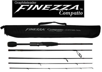 Спиннинговое удилище GRAPHITELEADER Compatto GOFCMS-765L Finezza  (5 частей)
